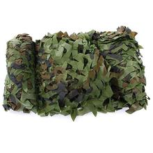 2*3 m Military Drill Camouflage Mesh Cloth Outdoor CS Game Hunting Woodland Jungle Tarp Car Covers Tent sun Shelter Sunshade Net