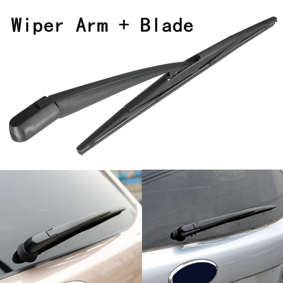 Rear windshield window plastic wiper arm blade for honda for cr v for subaru