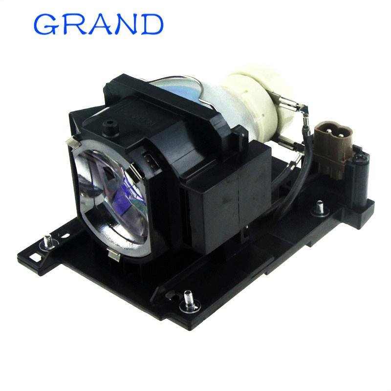 DT01022 / DT01026 Compatible Projector Lamp Bulb  For  HITACHI CP-RX78/ RX78W/ RX80/ RX80W/ED-X24Z  With Housing HAPPY BATE