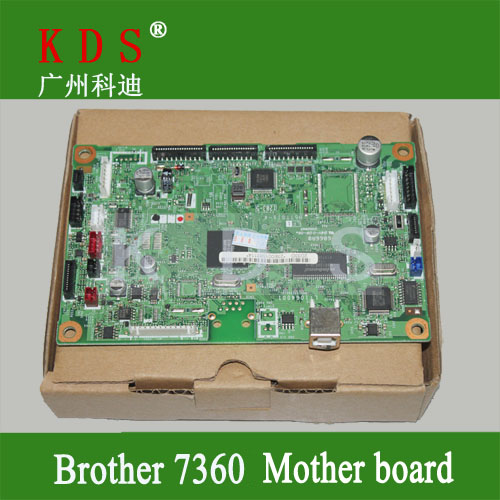 Original matherboard for Brother MFC7360 formatter board for brother 220V only LT1064001 LT2795023  remove from new machine original matherboard for brother mfc7340 formatter board for brother 220v only lt226001 remove from new machine