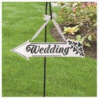 Drewniane Ślubne Znak Wskaźnik Mini tablicach tablica Dla Zdjęcie Rekwizyty Wedding Party Dekoracje Domu/forum