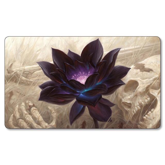 Black Lotus Playmat Juegos De Mesa Tapetes Magicos Para Jugar