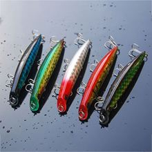 5pcs 3D Eyes Minnow Lure Crankbait Onerous Fishing Lure With three Hooks Carp Fishing Bait Fishing Deal with Pesca