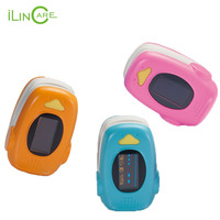 Fingertip Pulse Rate Oxygen SPO2 Oximeter Monitor CE FDA Certified Pediatric Medical Pulse Oximeter For Kids