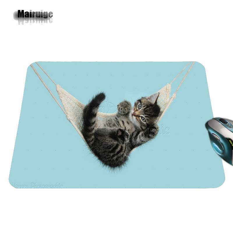 Customized Luxury Printing 1 PC of Cat Stylish Gamer Gaming Comfort Optical Laser Non Slip PC Mouse Pad