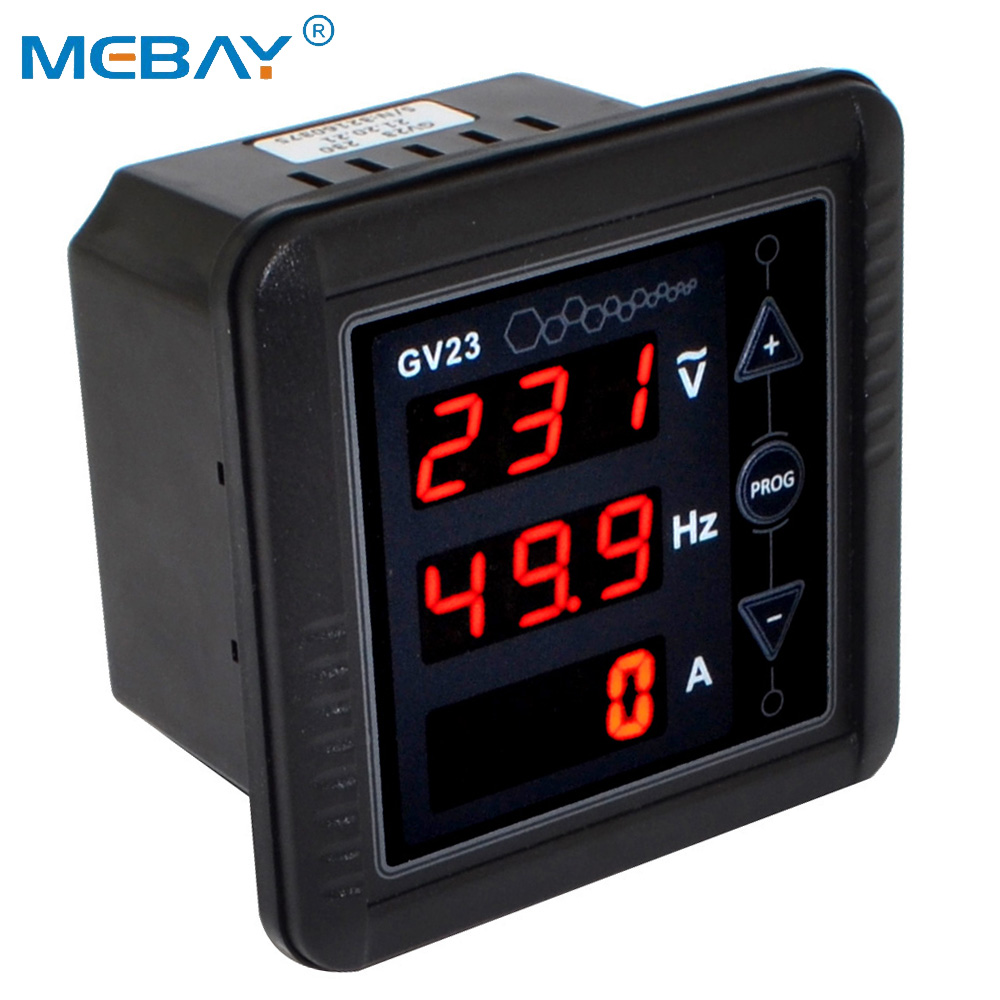 BC-GV23 Generator Digital Meter AC Voltage Frequency Current Meter Tester Panel Free Shipping with Track Number 12002873BC-GV23 Generator Digital Meter AC Voltage Frequency Current Meter Tester Panel Free Shipping with Track Number 12002873