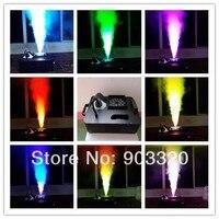 Новый 1500 Вт цифровой 21 шт. * 3 Вт RGB смешивание LED красочный до машины тумана Свадебные эффекты событие party8 10Meter с 8 DMX канала