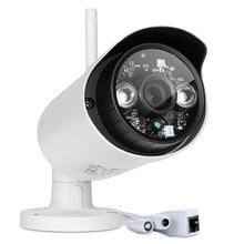 WIFI 1280 x 720P 1.0MP Bullet IP Camera Waterproof 2LED IR Night Vision Outdoor Security Camera ONVIF P2P CCTV Cam with IR-Cut