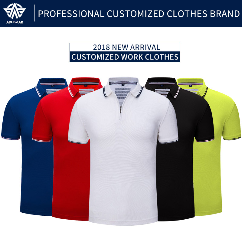 Adhemar Males Coaching Train Golf Brief Sleeve Sports activities Polo Shirts Fast Dry Slim Out of doors Coaching Tennis Shirt Girls