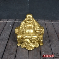 Chinese old feng shui decorate bronze Zhong Kui