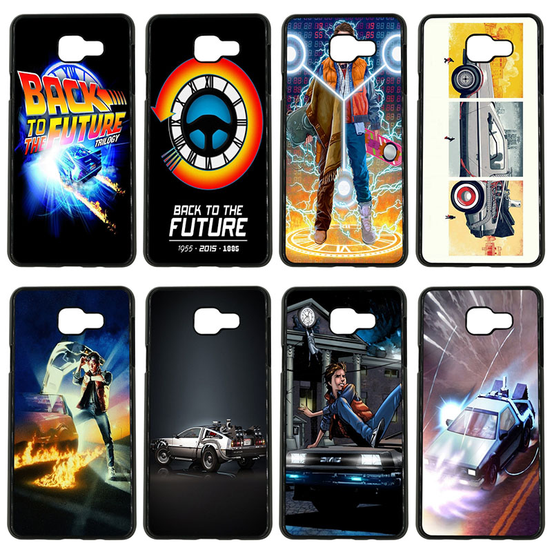 Hot Back To The Future Boy Cell Phone Cases Hard Plastic Cover for Samsung Galaxy S8 S9 Plus S3 S4 S5 Mini S7 S6 Edge Plus Shell