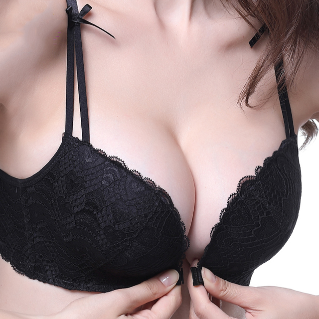 8aa434ad37 Wire Free Women Bra Front Closure Vest Type Seamless Push Up Women Bra 5 8