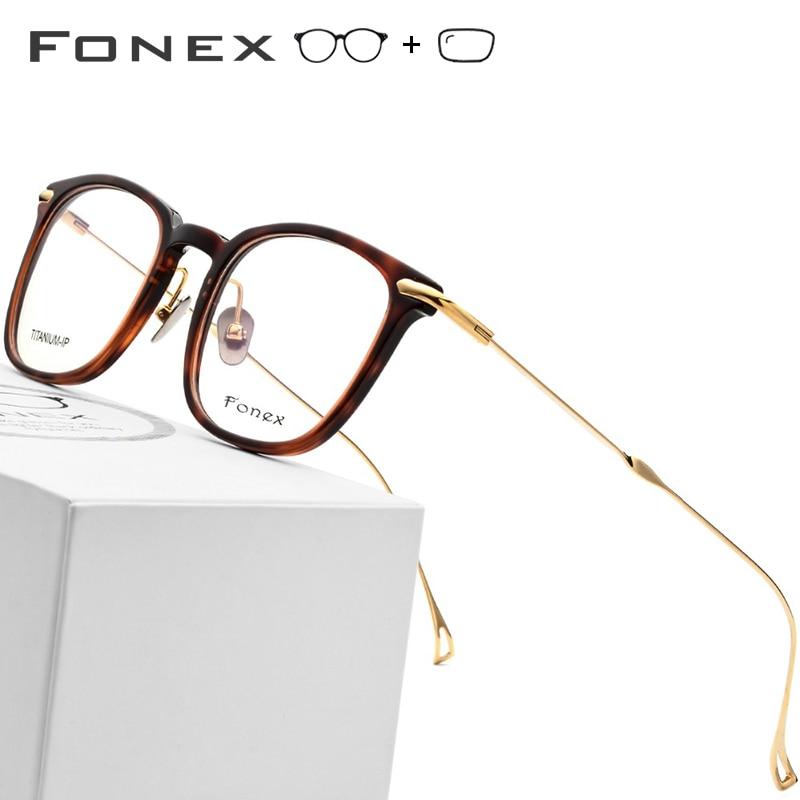 B Reinem Titan Brillen Männer Ultraleicht Acetat Frauen Hohe Qualität Brillen Myopie Optische Rahmen Koreanische Brillen Hoher Standard In QualitäT Und Hygiene