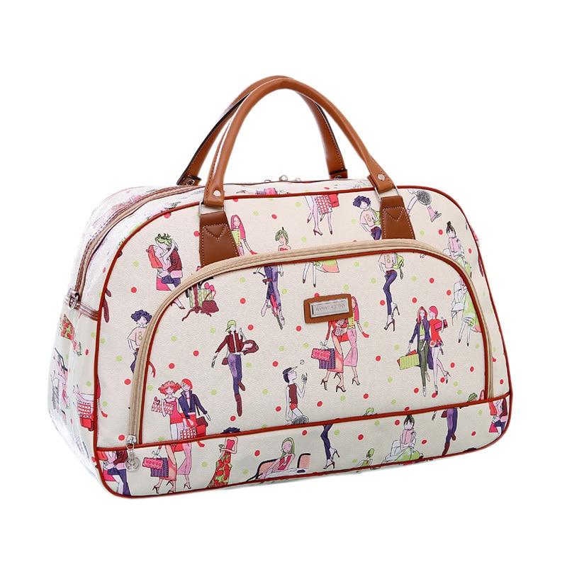 Aliexpress.com : Buy 2015 Fashion character modern girl duffle bag ...