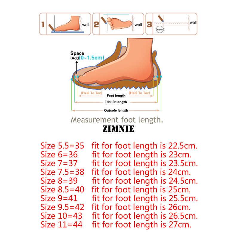 Zimnie Thương Hiệu Mùa Hè Người Phụ Nữ Mềm Giải Trí Da Phẳng Giày Người Phụ Nữ Mộc Mạch Trà Cho Nữ Nữ Đơn Giản Có Giày Size Lớn 35 ~ 44