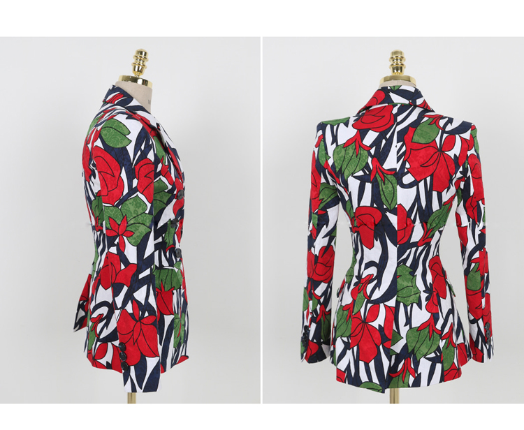 ZAWFL 2018 vacation women Summer trench coats Floral gray trench coat trench women coats office outwear OL Loose tops 6