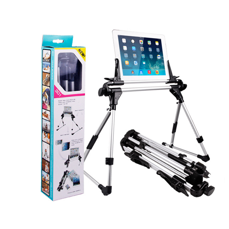 Lazy Bed Desk Floor Mount Holder for iPad 1 2 3 4 5 6 air 1 air 2 For iPhone 7 Foldable For Samsung Galaxy Tablet PC Stands