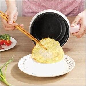 Image 4 - Casserole électrique multifonction 220V, Mini casserole pour la cuisine domestique, antiadhésive/en acier inoxydable, multi cuiseur disponible à lintérieur