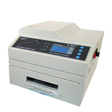 T937 drawer type intelligent reflow soldering machine small infrared can be accessed by computer welding