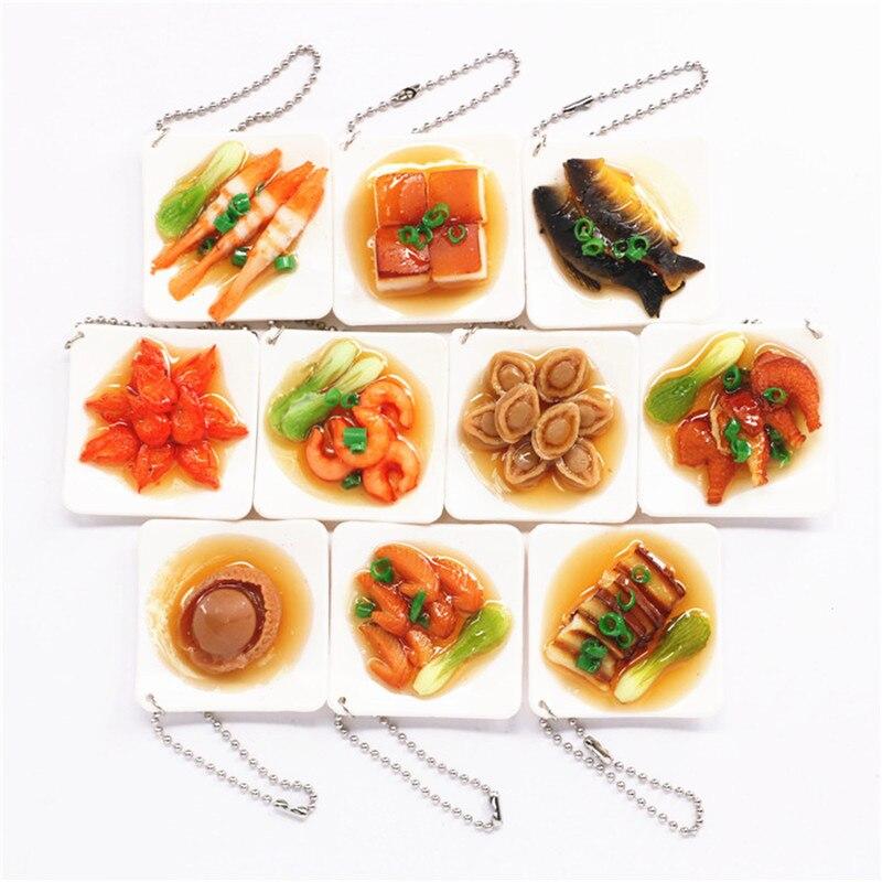 Ramen Lanyard  Design Simulation Food Keychain Noodles Vegetables Kids T LACIJ