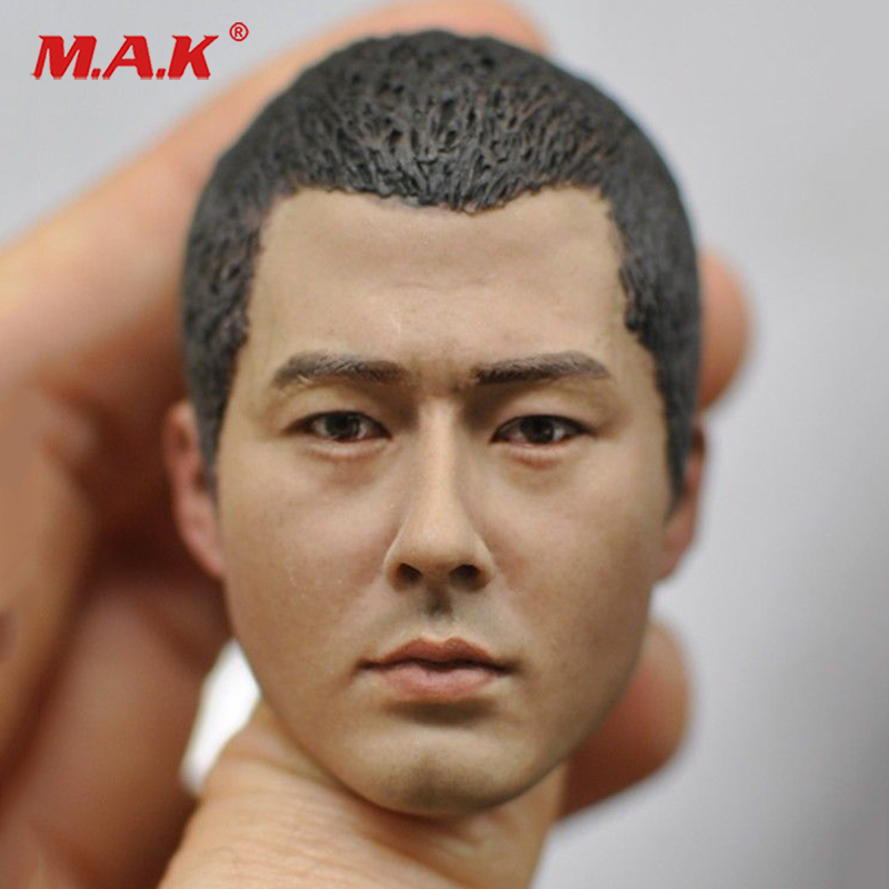 1/6 Scale 1/6 Scale Male Head Sculpt Carved Model KM16-87 Head Carving Model Fit 12man figure body mak custom 1 6 scale hugh jackman head sculpt wolverine male headplay model fit 12kumik body figures
