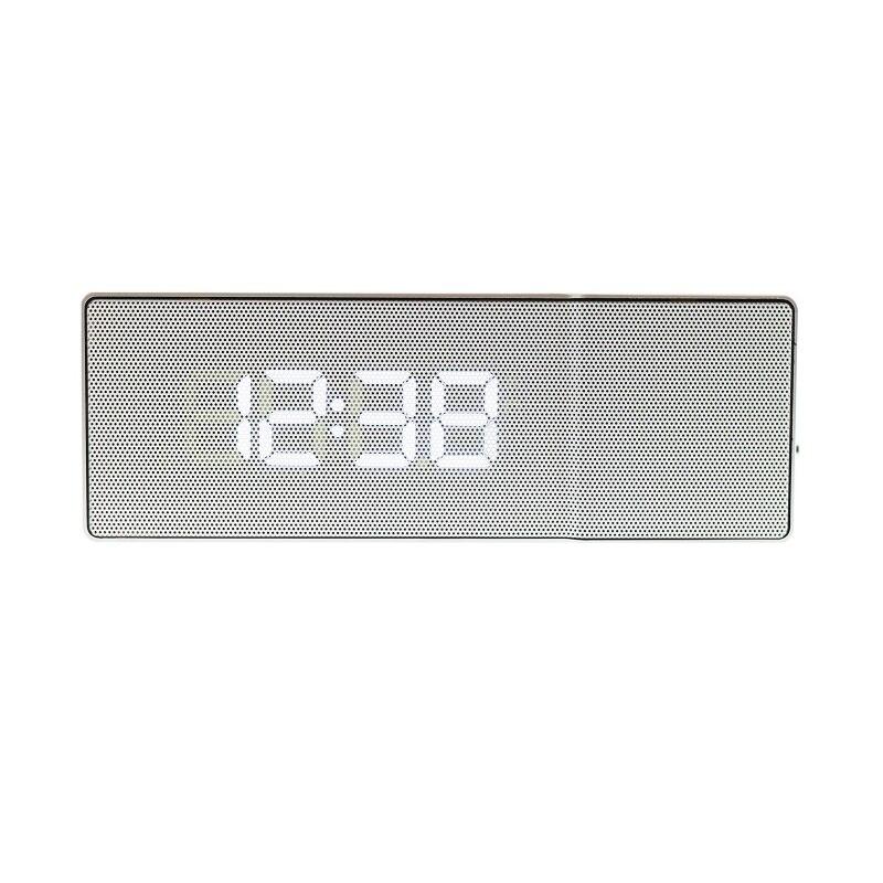 Dapper Led Digitale Horloge Usb Snooze Functie Met Backlight Dubbele Bel Spelen Muziek Decoratieve Radio Projector Wekker Tafel Klok Levendig En Geweldig In Stijl