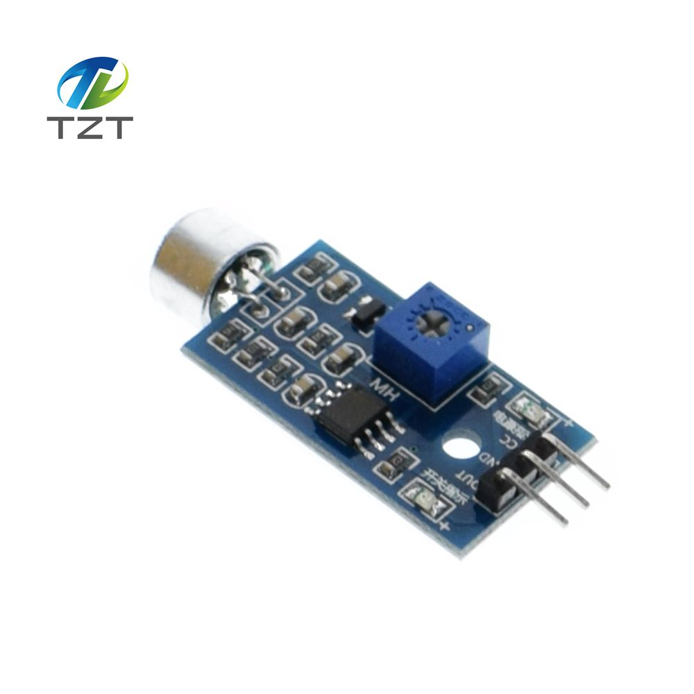 1pcs wholesale sound detection sensor module sound sensor intelligent vehicle for arduino in. Black Bedroom Furniture Sets. Home Design Ideas