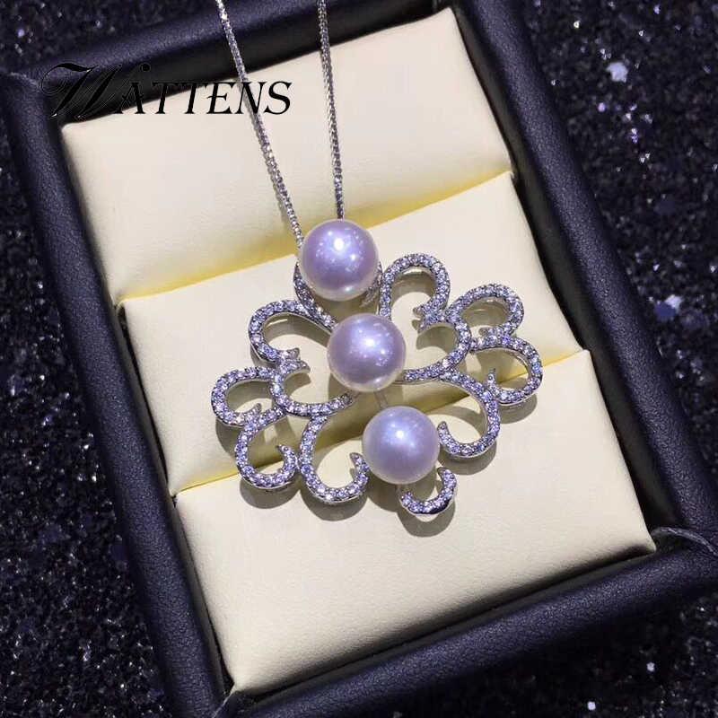 Colliers de perles naturelles 925 pendentif en argent sterling pour femmes papillon bohème zircon accessoires de mariage de luxe bijoux