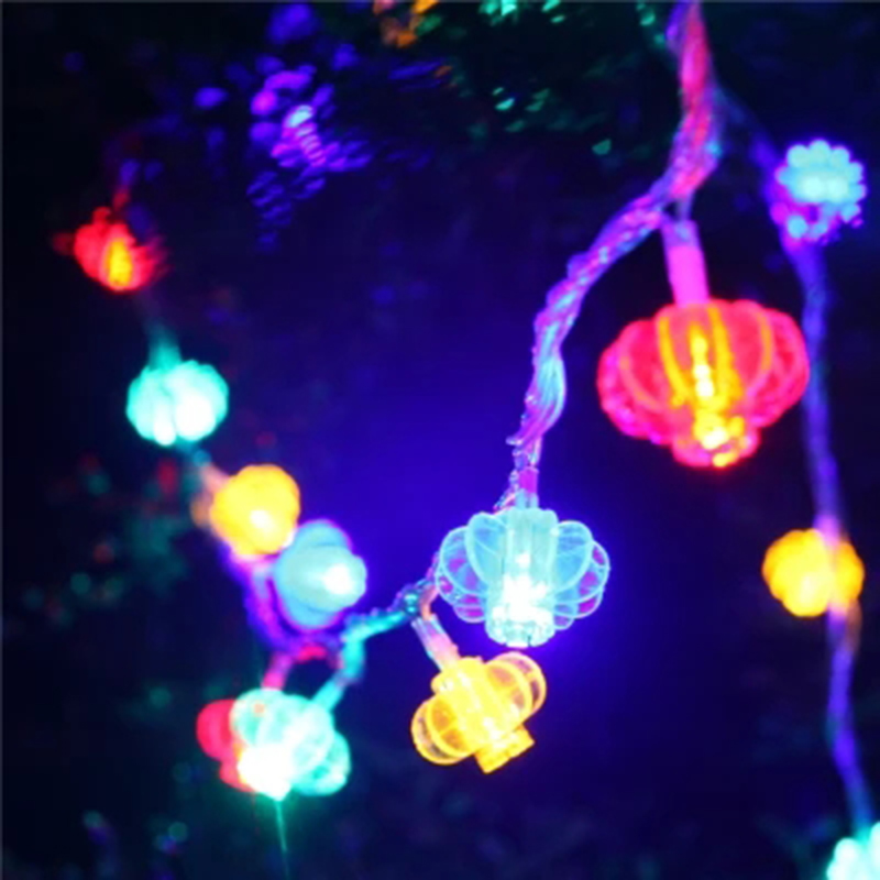 Spring festival holiday decorative red lantern led string lights spring festival holiday decorative red lantern led string lights chinese garland wedding chinatown outdoor battery home decor in glow party supplies from solutioingenieria Images