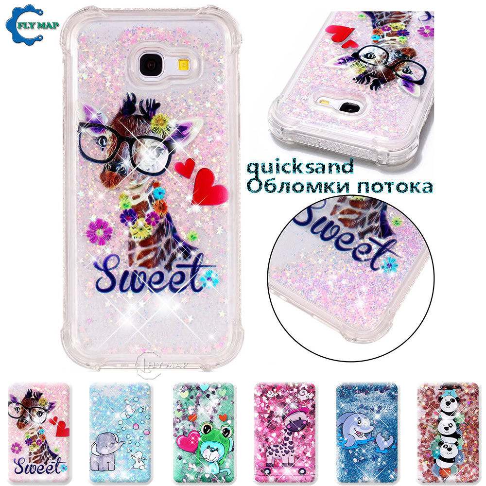 Phone Bags & Cases Romantic Case For Samsung Galaxy A5 A 5 2017 Sm A520 A520f A520f/ds Sm-a520f Sm-a520f/ds Glitter Stars Dynamic Liquid Quicksand Tpu Case Orders Are Welcome. Cellphones & Telecommunications