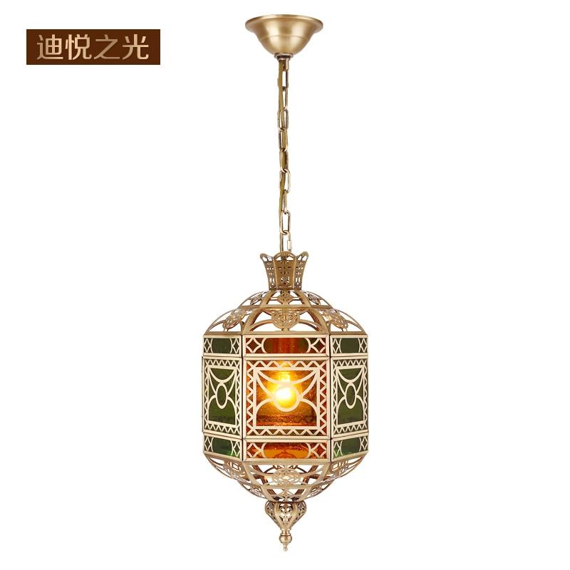 Us 400 0 2018 Arabic Vintage E27 Hanging Light Fixtures Moslem Hollow Carved Copper Retro Kitchen Lamp Pendant For Hotel Restaurant Villa In Pendant