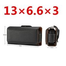 Универсальный черный кожаный чехол-Кобура премиум-класса с зажимом для ремня для Nokia 3310, ZTE L660, Neken EN3, Gionee W909, чехол-сумка