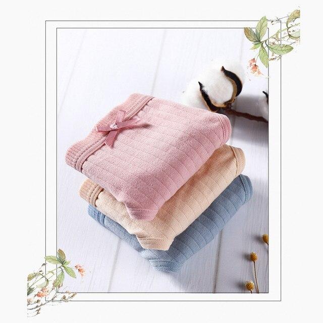 Sexy Lingerie Women's Cotton G-String Thong Panties String Underwear Briefs Panties Intimate Ladies Low-Rise 2