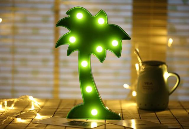 Cactus Led Lamp
