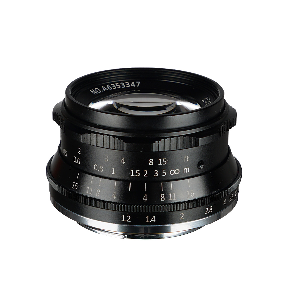 Original 7artisans 35mm F1 2 APS C Manual Fixed Lens For Sony E Mount A7 A7II