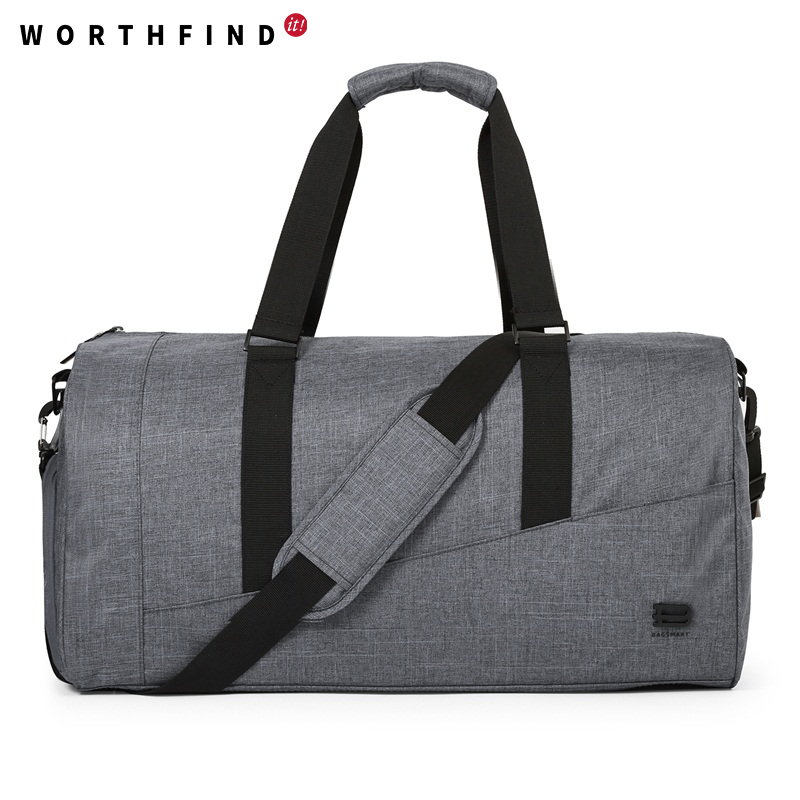WORTHFIND New Travel Bag Large Capacity Men Hand Luggage Travel Duffle Bags Canvas Weekend Bags Multifunctional Travel Bags large capacity men hand luggage travel duffle bags canvas travel bags weekend shoulder bags multifunctional overnight duffel bag