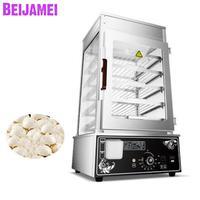 BEIJAMEI Alta eficiência máquina de pão de vapor de alimentos  vapor elétrica food warmer  navio de alimentos comerciais 5 camadas