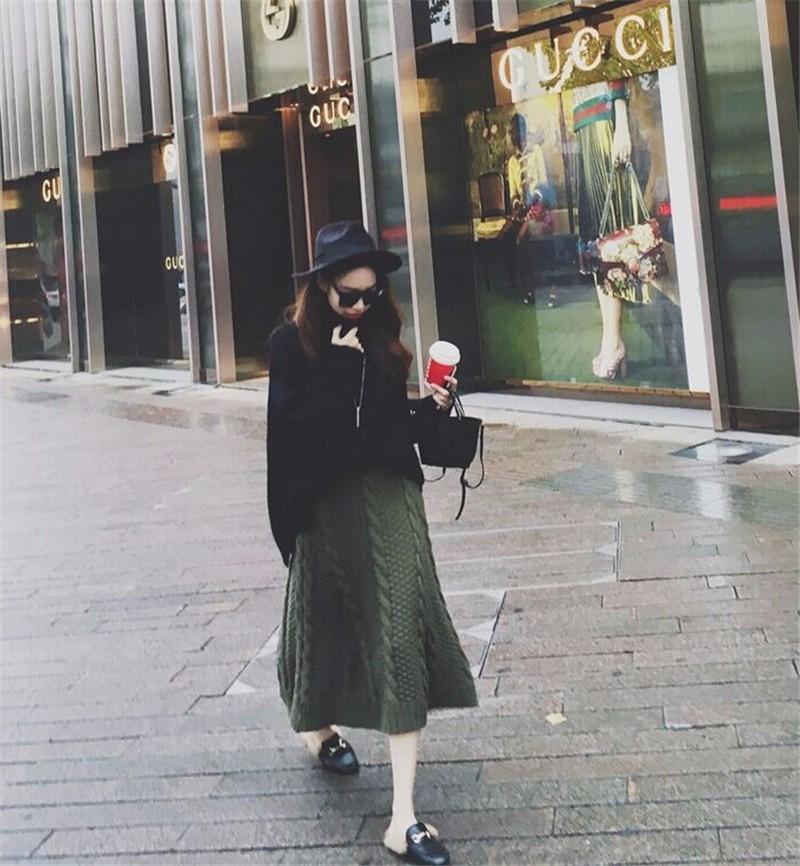 winter thick skirt 04