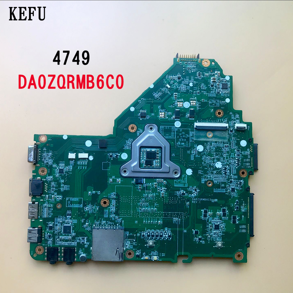 KEFU MBRR406001 Motherboard for Acer Aspire 4349 4749 DA0ZQRMB6C0 HM65 motherboard tested fully