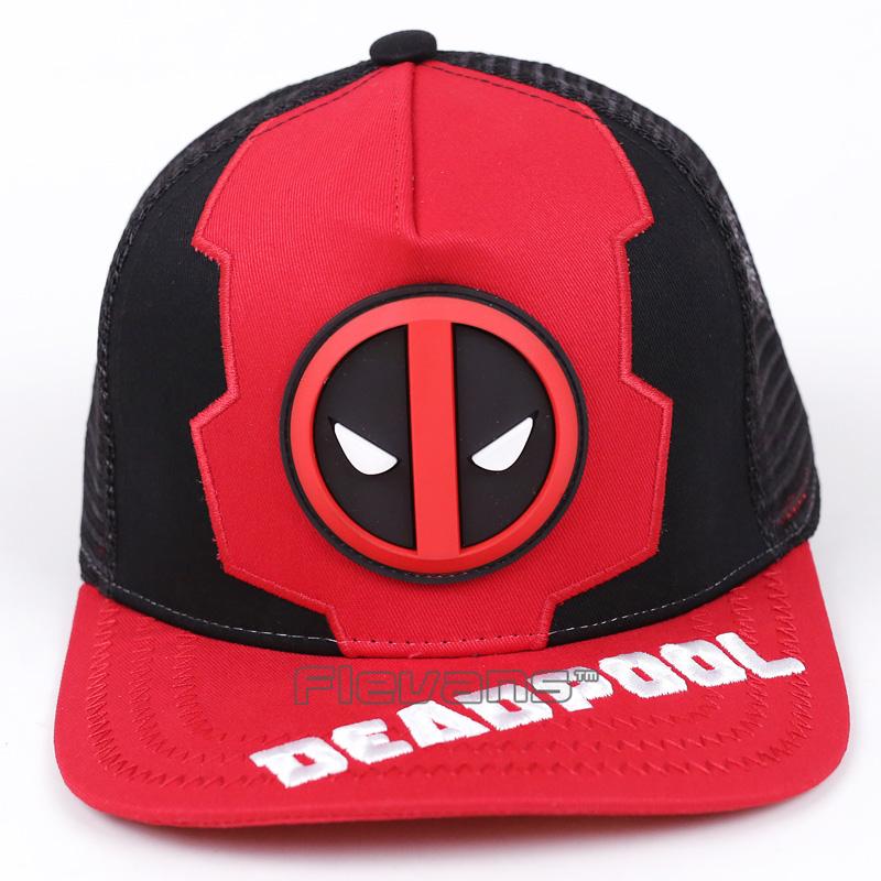 b0ba59e6bcd 2017 Fashion Brand Casual Baseball Caps Men Women Summer Deadpool Cap Hat  Snapback Cap
