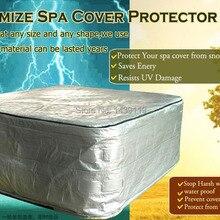 """Горячая ванна крышка, size9"""" x 91"""" x36 и крышка spa протектор, можно настроить в любой размер и форму"""