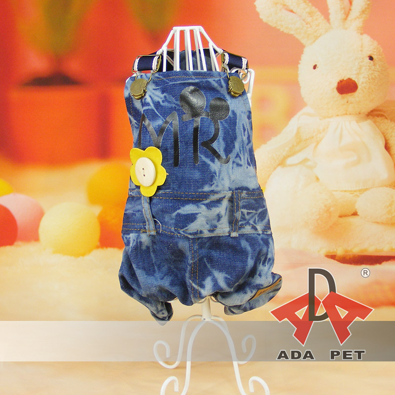 1pcs dogs cats fashion strip jumpsuits with cute cartoon backpack doggy spring autumn tracksuits clothing pet dog suit S-XL
