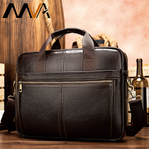 MVA men's briefcase/genuine Le