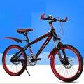 Mountain Bike 20-Shock Absorber Polegada Dois-Freio A Disco Bicicleta das Crianças Bicicleta Bicicleta de Estrada
