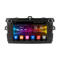 vehicel C500 Android 6.0 Octa 8 Core 2G RAM car radio dvd player for Toyota corolla 2007 in dash 2 din gps navi 4G LTE Network