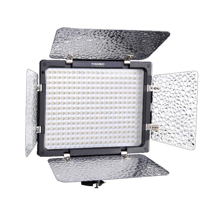 Yongnuo YN300 III YN-300 III 3200k-5500K CRI95 Camera Photo LED Video Light Optional with AC Power Adapter + Battery KIT 2