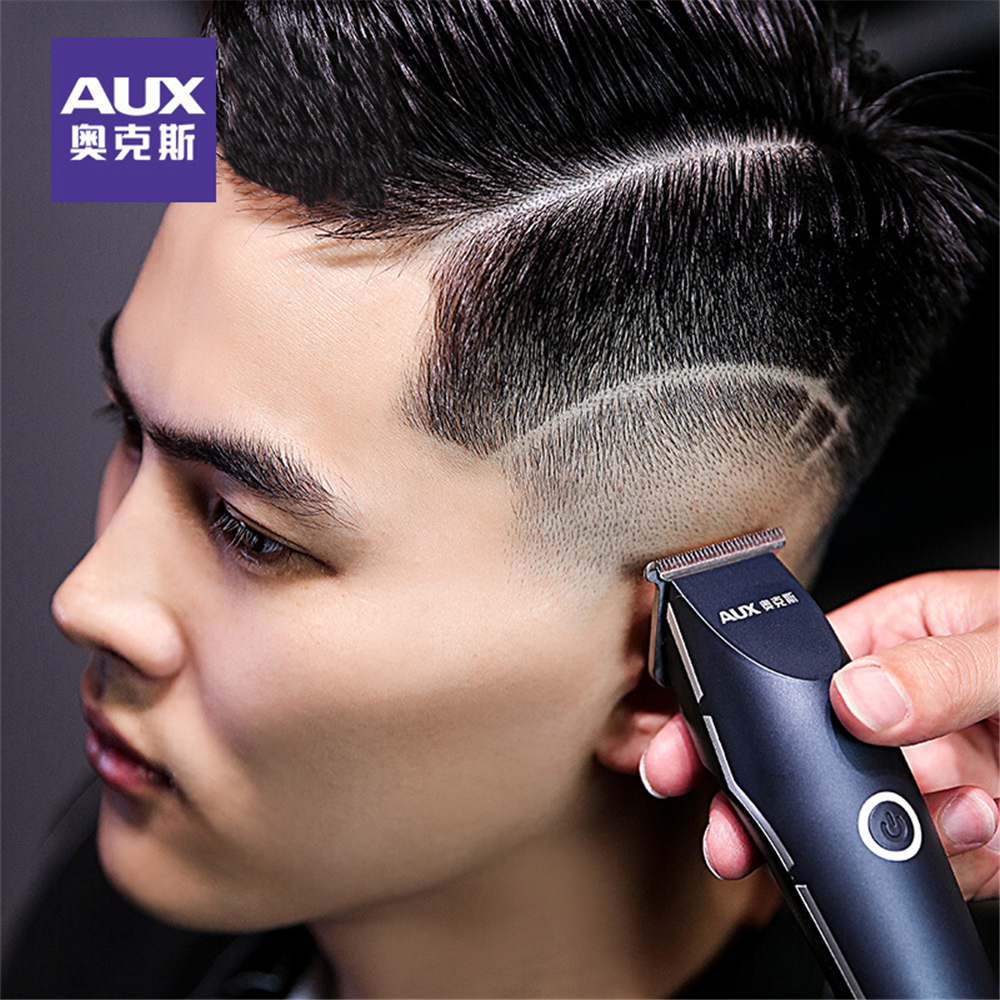 Professional Precision Hair Clipper Electric Hair Trimmer Beard Shaving Machine 0 1mm Baldhead Cutting for Men