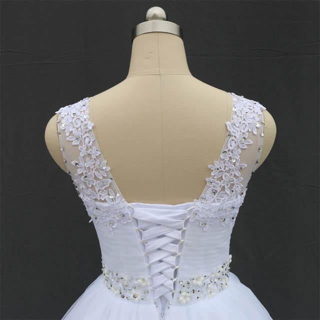Online Shop Fansmile Real Photo Cheap Double Shoulder Lace Up Ball Wedding  Dresses 2019 Vintage Plus Size Bridal Dress Wedding Gown FSM-027F  3a458c71f6bd