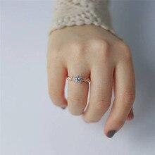 ROMAD, розовое Золотое цветочное кольцо для невесты, обручальное кольцо на палец, обещающее, обручальное, массивные кольца для женщин, ювелирное изделие, bague femme