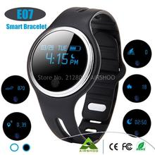 Neue Version E07 Wasserdicht IP67 Smart Armband Bluetooth4.0 GPS Sport Tracks Monitor Smart Armband Smartwatch Für Android IOS